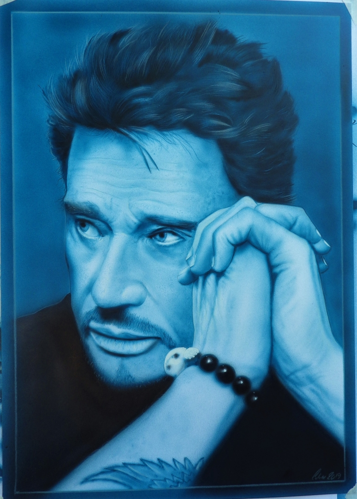 Johnny Hallyday by stephane014